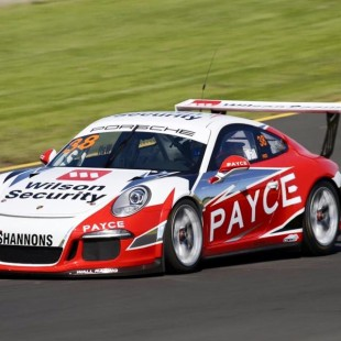 PAYCE Porsche Carrera Cup car at Sydney Motorsport Park Eastern Creek Test Day 10 Feb 2016
