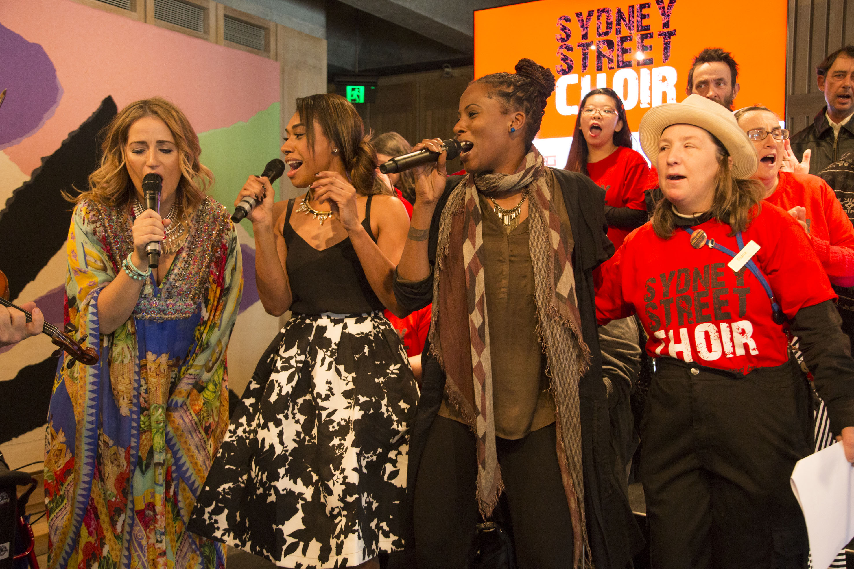PAYCE Consolidated Pty Ltd Sydney Street Choir Sings up a Storm at
