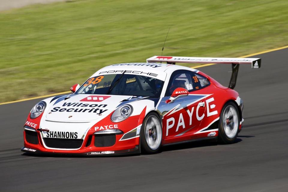 PAYCE welcomes David Wall's return to the Porsche Carrera Cup