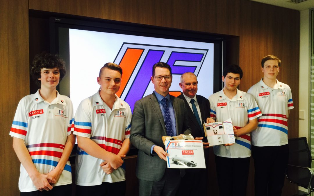 Engadine High's Fast PAYCE team to race the world's best in Texas