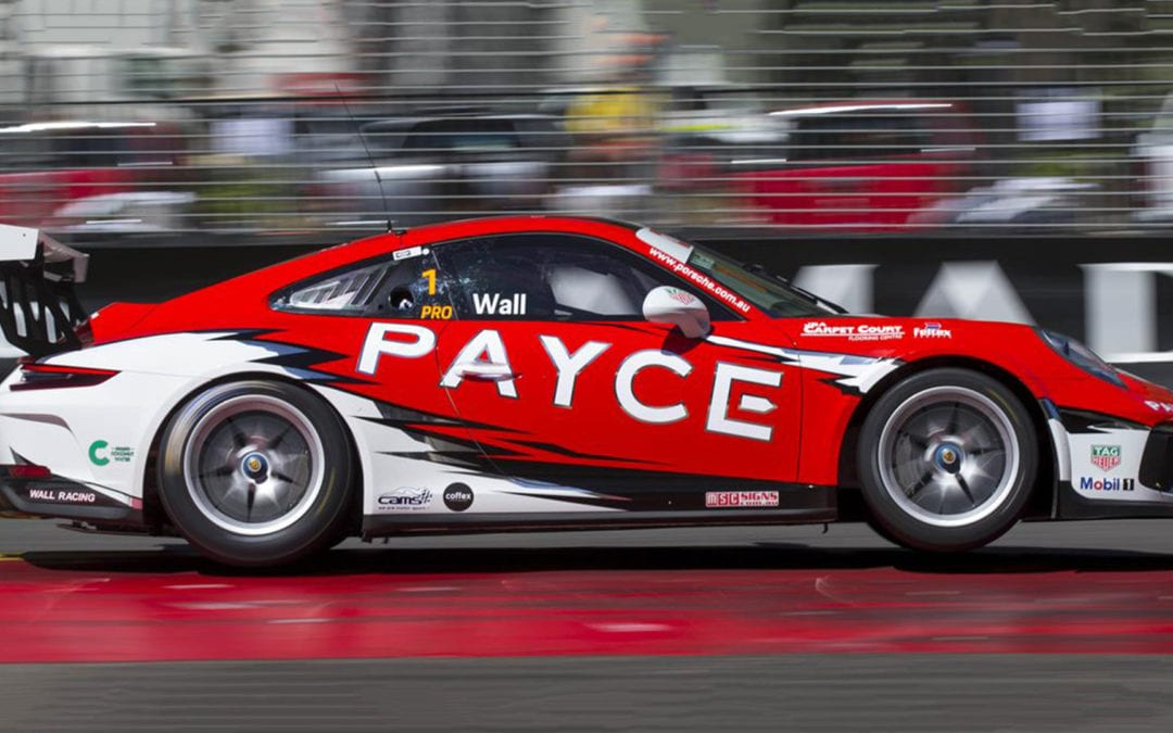 PAYCE revs-up PORSCHE Carrera Cup
