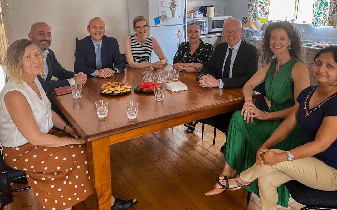 Minister Ward visits new Parramatta Women's Shelter