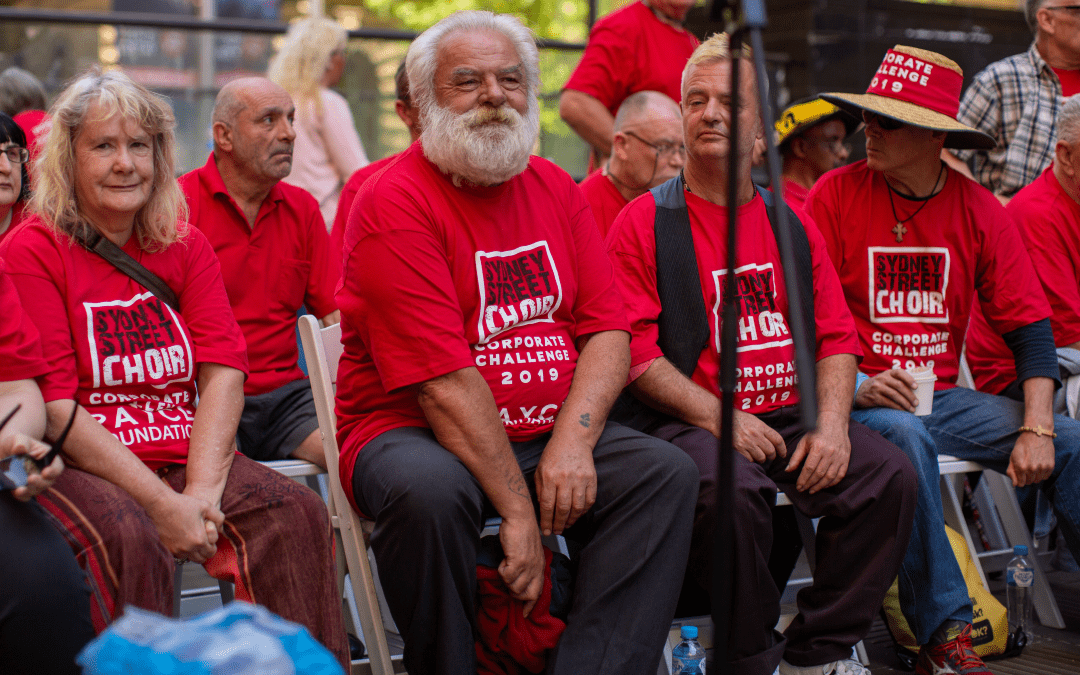 Street Choir hits right note with social impact program