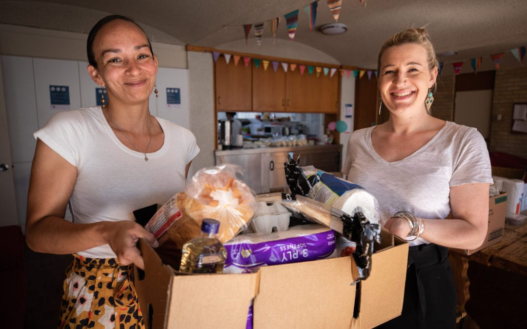 Donation to help struggling refugees