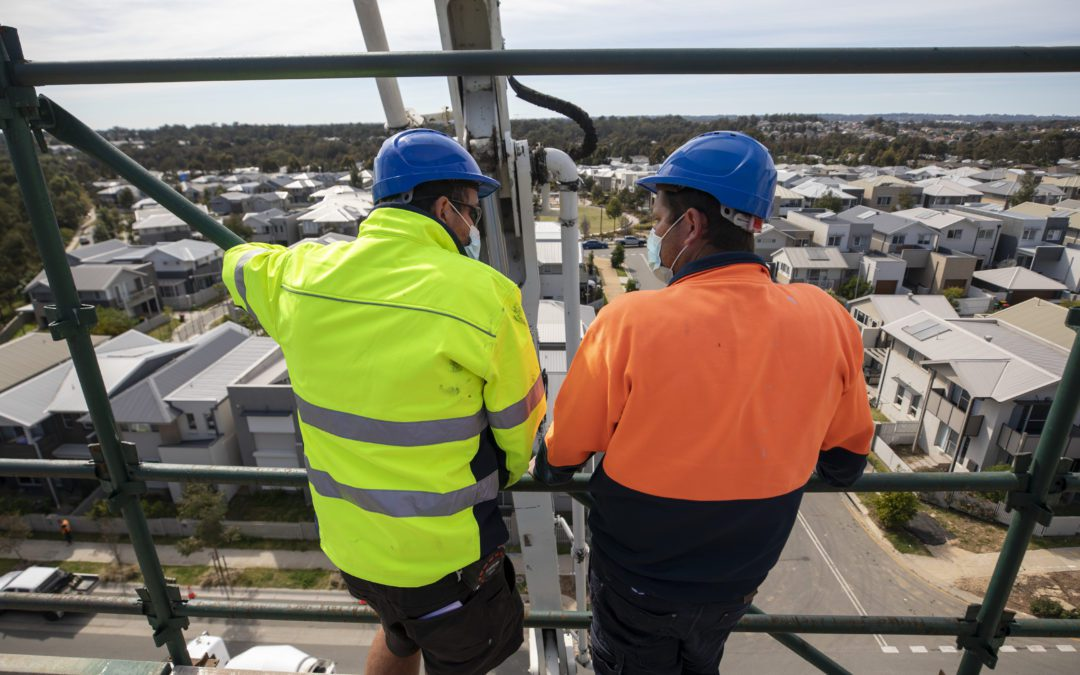 R U OK? Day presents a helping hand for construction workers